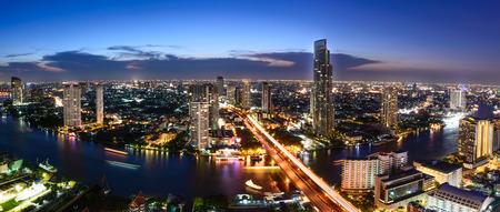 Bangkok skyline cityscape in Thailand. Stock fotó