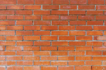 Grunge vintage brick wall background.