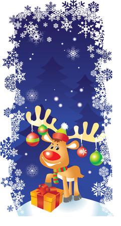 Vector Christmas card Vector