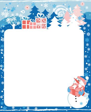 december kalender: Frame voor calendar - December