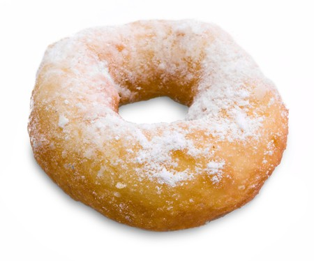 Doughnut isolated on white background Stock Photo - 4486032
