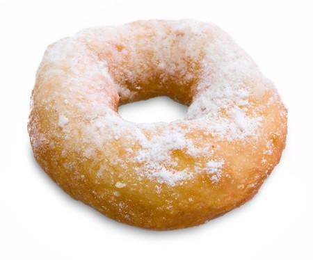 Doughnut isolated on white background Stock Photo - 4486032
