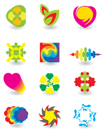 Set of elements for design Stock Vector - 4737537