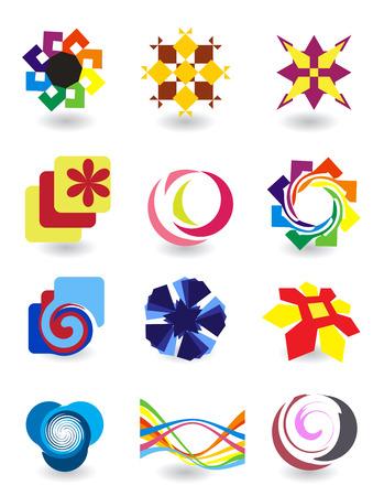 Set of elements for design Illustration