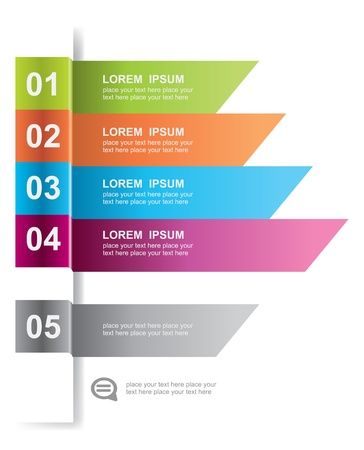 histogram: Modern design element template. For web design, infographics.