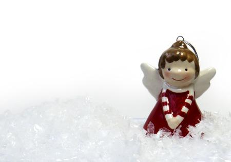 lore: Christmas Angel decoration Stock Photo