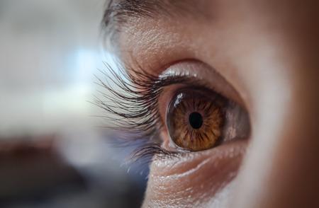 primo piano di un occhio