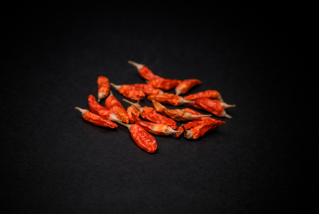 red hot dryed chilli peppers Stok Fotoğraf