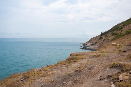 samet: View of the sea coastline at Khao Laem Ya, Mu Ko Samet National Park in the Gulf of Thailand. Stock Photo