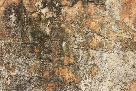 Texture of cracked old wall