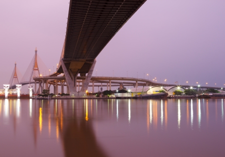 Bhumibol Bridge,the Industrial Ring Bridge photo