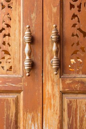 wooden doors thai style