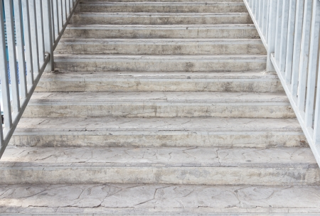 Staircase angle view upper  Stock Photo
