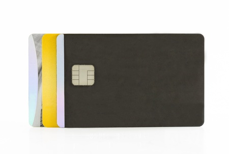 Empty credit cards  photo