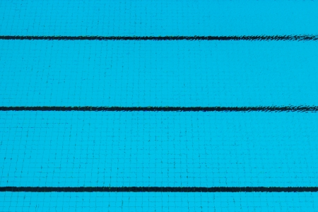 Empty floor in swimming pool