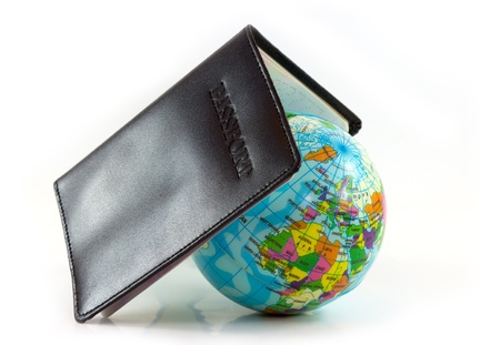Passport concept travel and the world  Stock Photo