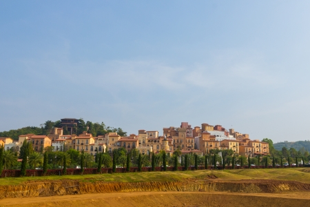 House of tuscany italy style on hill