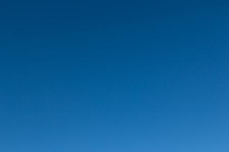 Plain background of blue sky