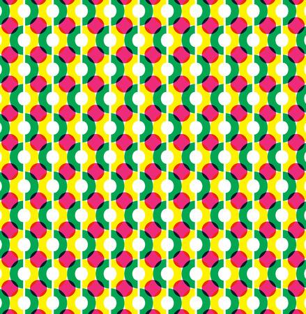 Circle illusion pattern graphic design  Illustration