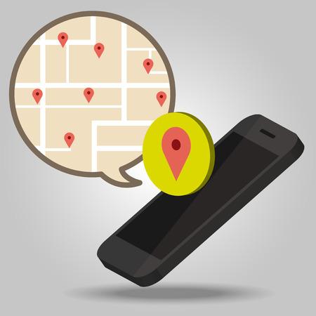 Navigator of smartphone concept