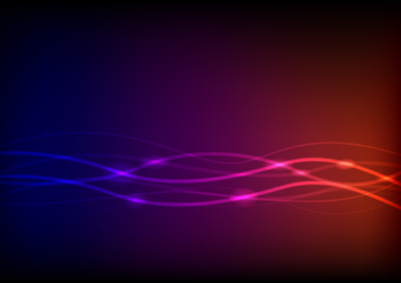 Vector of line abstract background
