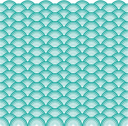 overlap: Circle wave overlap background