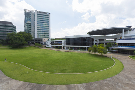 ranked: Kent Ridge, Singapore-December 7, 2014: National University of Singapore (NUS), Founded in 1905, It was ranked the 100?150th university based on performance by the Academic Ranking of World University Editorial