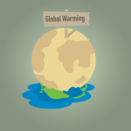 dissolution: Global warming with earth dissolution