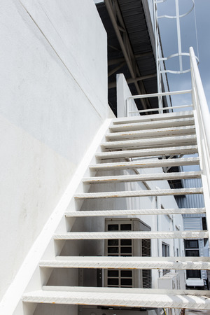 Outdoor stairs structure. photo