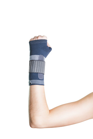 velcro: Pain in the wrist, and the retainer for a quick recovery.