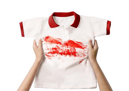 dirty shirt Stock Photo