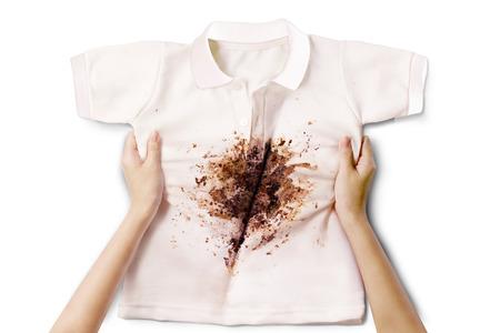 dirty shirt photo