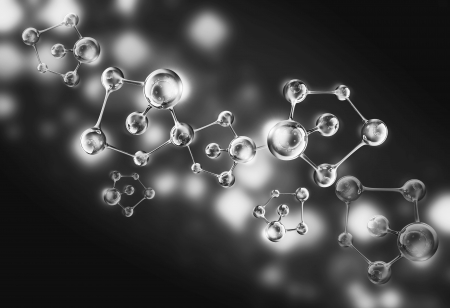 molecule dna cell illustration