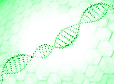 green molecule dna cell illustration illustration