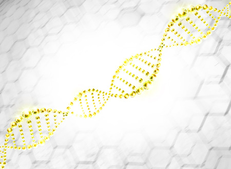 dna sequencing: molecule dna cell illustration
