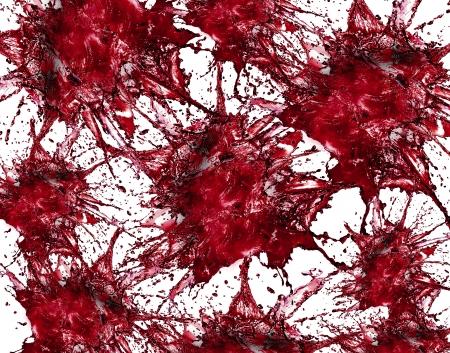 backgruond: Blood Splash Abstract Backgruond