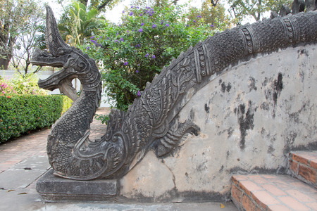 beliefs: NAGA,Snake god statue According to the beliefs of Thailand and Laos