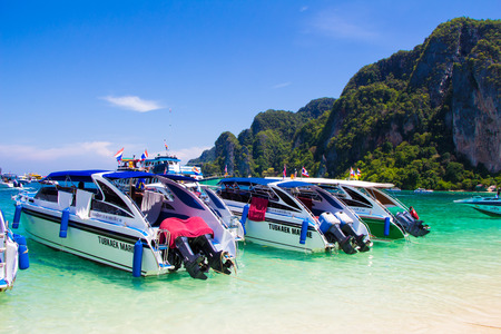 Rai Lay Beach Krabi Thailand, Mahya bay, Maya bay Editorial
