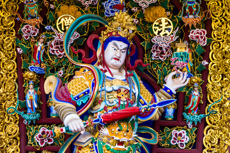 Giant Chinese art colorful