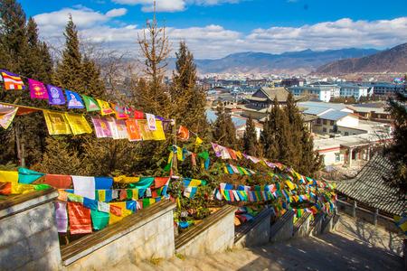 beliefs: Tibetan prayer flags brand beliefs