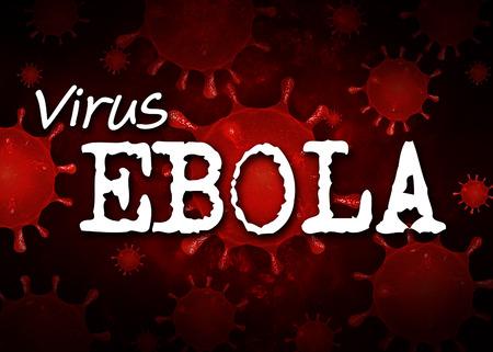 plague: Ebola virus Background Red Respiratory syndrome