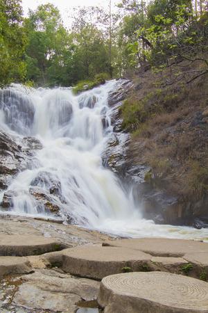 lat: Datanla waterfall in Da Lat city (Dalat), Vietnam Stock Photo
