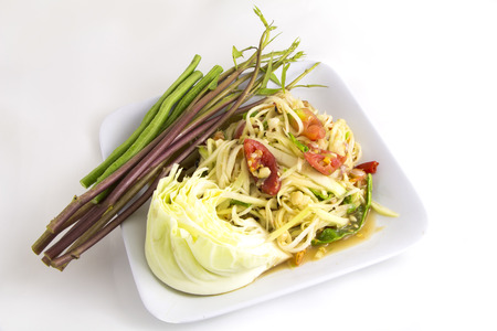 tam: Som tam (Thai papaya salad) recipe