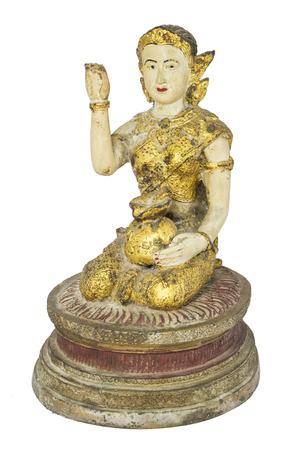lucrative: Kids mascot statue Help lucrative trade Belief in Thailand