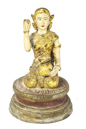credulous: Kids mascot statue Help lucrative trade Belief in Thailand