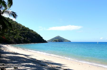 whitsundays: Australia, Whitsundays. South Mole Island.