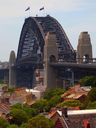 View to Sydney Harbour Bridge. Australia Stock Photo - 6088137