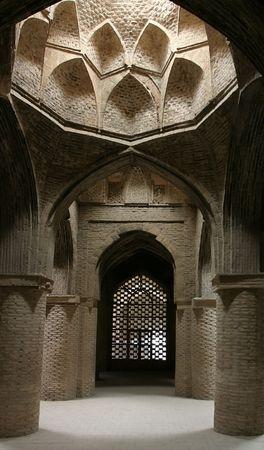 900 years old Taj al-Molk Dome Jameh (Friday) Mosque. Isfahan. Iran
