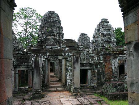 Ruins of Preah Khan Temple. Angkor, Siem Reap. Cambodia. Stock Photo - 6088078
