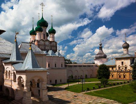 reverent: Rostov Veliky. Kremlin. Russia